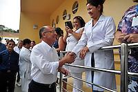 GUARULHOS, SP, 03.03.2017 - ALCKMIN-SP - O governador Geraldo Alckmin (PSDB) e o Preifeito de Guarulhos, Guti (PSB) durante entrega das obras de ampliação do pronto-socorro do Complexo Hospitalar Padre Bento, na manhã desta sexta-feira,(03) na região de Guarulhos, Grande São Paulo. A área do setor, que era de 250 m², passou a ter 2.300 m². Com isso, o número de leitos mais que triplicou, saltando de 8 para 27 vagas destinadas ao atendimento de média e alta complexidade.(Foto: Renato Gizzi/Brazil Photo Press)