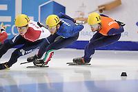 "SHORT TRACK: MOSCOW: Speed Skating Centre ""Krylatskoe"", 14-03-2015, ISU World Short Track Speed Skating Championships 2015, Daan BREEUWSMA (#146   NED), ©photo Martin de Jong"