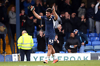 Southend United manager Sol Campbell celebrates at the final whistle after Southend United vs Bristol Rovers, Sky Bet EFL League 1 Football at Roots Hall on 7th March 2020