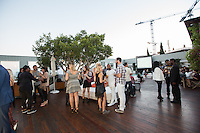 Gia Coppola & Peroni Grazie Cinema Series Cocktail Reception at Skybar at the Mondrian on July 28, 2015 (Photo by Inae Bloom/Guest of a Guest)