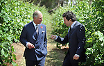 AUSTRALIA, Adelaide : Britain's Prince Charles (L) talks with Chief winemaker Peter Gago during a tour of the Penfolds Magill Estate Winery in Adelaide on November 7, 2012. The royal couple are on a 6-day visit to Australia to commemorate the Diamond Jubilee of Queen Elizabeth II. AFP PHOTO/POOL/Mark GRAHAM