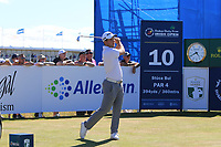 Bradley Neil (SCO) on the 10th during Round 2 of the Dubai Duty Free Irish Open at Ballyliffin Golf Club, Donegal on Friday 6th July 2018.<br /> Picture:  Thos Caffrey / Golffile