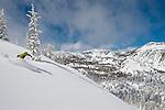 Jonas Cabilas Skiing at Mt. Rose Ski Tahoe.