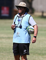 Jaco Pienaar (Assistant Coach) of the Cell C Sharks during the cell c sharks pre season training session at  Growthpoint Kings Park ,22,01,2018 Photo by Steve Haag)