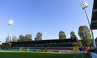 20191022 – OOSTENDE , BELGIUM : illustration picture shows the stadium before a soccer game between Club Brugge KV and Paris Saint-Germain ( PSG )  on the third matchday of the UEFA Youth League – Champions League season 2019-2020 , thuesday  22 th October 2019 at the Versluys Arena in Oostende  , Belgium  .  PHOTO SPORTPIX.BE | DAVID CATRY