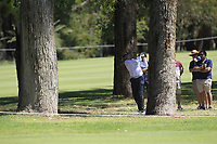 Peter Fowler (AUS) in action on the 10th during Round 3 of the ISPS Handa World Super 6 Perth at Lake Karrinyup Country Club on the Saturday 10th February 2018.<br /> Picture:  Thos Caffrey / www.golffile.ie<br /> <br /> All photo usage must carry mandatory copyright credit (&copy; Golffile | Thos Caffrey)