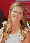 LOS ANGELES, CA - JULY 11: Brandi Chastain arrives at the 2012 ESPY Awards at Nokia Theatre L.A. Live on July 11, 2012 in Los Angeles, California.