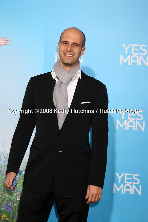 "Eduardo Ponti arriving at the LA  Premiere of ""YESman"" at the Mann's Village Theater in Westwood, CA on December 17, 2008.©2008 Kathy Hutchins / Hutchins Photo..                ."
