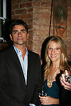 John Stamos and Marcia Tovsky at the Fame-Wall World Premiere Launch Party and Inaugural Portrait Unveiling Honoring John Stamos currently starring in Broadway's Bye, Bye Birdie on September 10, 2009 at Trattoria Dopo Teatro, NYC - now Home of New Fame-Wall, NYC. Fame-Wall salutes those who have inspired people and made a significant impact through the world of art and entertainment. (Photo by Sue Coflin/Max Photos)