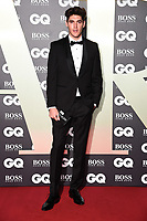 Isaac Carew<br /> arriving for the GQ Men of the Year Awards 2019 in association with Hugo Boss at the Tate Modern, London<br /> <br /> ©Ash Knotek  D3518 03/09/2019