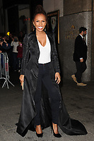 www.acepixs.com<br /> April 19, 2017 New York City<br /> <br /> Janet Mock was seen arriving to the Harper's Bazaar 150th Anniversary celebration at the Rainbow Room on April 19, 2017 in New York City.<br /> <br /> Credit: Kristin Callahan/ACE Pictures<br /> <br /> Tel: (646) 769 0430<br /> e-mail: info@acepixs.com