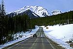 Estrada em Alberta. Canadá. 2002. Foto de Luciana Whitaker.