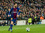 Lionel Andres Messi of FC Barcelona in action during the La Liga 2017-18 match between FC Barcelona and Girona FC at Camp Nou on 24 February 2018 in Barcelona, Spain. Photo by Vicens Gimenez / Power Sport Images