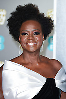 Viola Davis<br /> arriving for the BAFTA Film Awards 2019 at the Royal Albert Hall, London<br /> <br /> ©Ash Knotek  D3478  10/02/2019