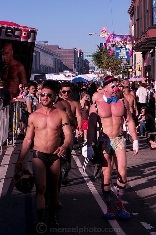 Folsom Street Fair, San Francisco, CA annual event.