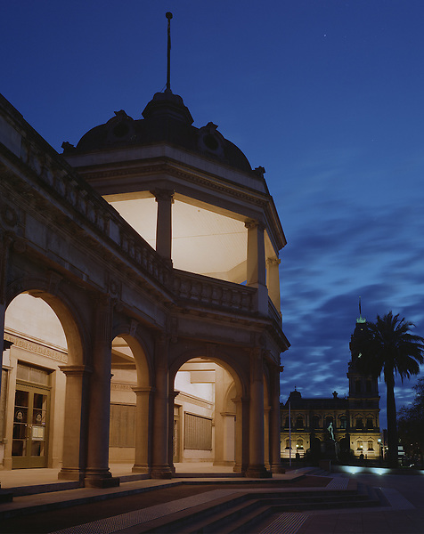 War Memorial & Post Office Building, Bendigo