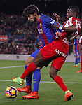 01.03.2017 Barcelona.La Liga game 25. Picture show Andre Gomes in action between FC Barcelona v Sporting at Camp Nou