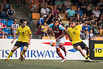 Aston Villa vs West Ham United during the Main tournament of the HKFC Citi Soccer Sevens on 22 May 2016 in the Hong Kong Footbal Club, Hong Kong, China. Photo by Li Man Yuen / Power Sport Images