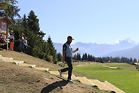 Andy Sullivan (ENG) walks onto the 7th tee during Saturday's Round 3 of the 2018 Omega European Masters, held at the Golf Club Crans-Sur-Sierre, Crans Montana, Switzerland. 8th September 2018.<br /> Picture: Eoin Clarke | Golffile<br /> <br /> <br /> All photos usage must carry mandatory copyright credit (&copy; Golffile | Eoin Clarke)
