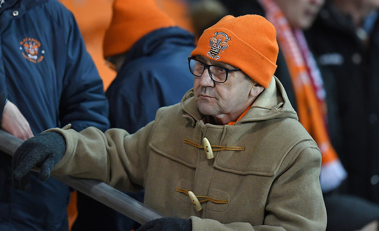 Fans<br /> <br /> Photographer Dave Howarth/CameraSport<br /> <br /> The EFL Sky Bet League One - Blackpool v Doncaster Rovers - Tuesday 12th March 2019 - Bloomfield Road - Blackpool<br /> <br /> World Copyright © 2019 CameraSport. All rights reserved. 43 Linden Ave. Countesthorpe. Leicester. England. LE8 5PG - Tel: +44 (0) 116 277 4147 - admin@camerasport.com - www.camerasport.com