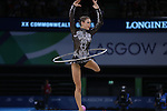 Glasgow 2014 Commonwealth Games<br /> <br /> Francesca Jones (Wales) competing in the women's Individual Rhythmic Gymnastics Final.<br /> <br /> 25.07.14<br /> ©Steve Pope-SPORTINGWALES