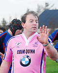 Sunday's Junior Cup game in Carrowholly was paused while Connacht Branch Referee Emmett Dormer as rightly stated in the rules did not allow a 2nd Row to replace a Prop during the junior cup game on sunday in Carrowholly. Liam Scahill returned to the bench and Martin Kennedy stayed on. Liam Scahill did eventually get into the game replacing Matthew Walsh (2nd Row). ..Pic Conor McKeown