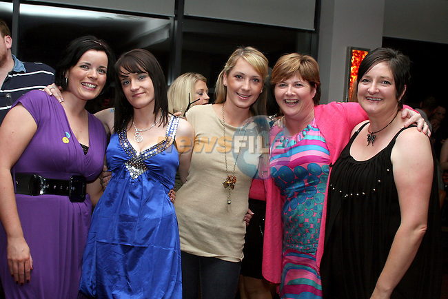 Lisa Balfe, Lisa McCabe, Catherine McKearney, Trisha Parkinson and Beth Walsh enjoying a night out in Bru...Photo NEWSFILE/Jenny Matthews.(Photo credit should read Jenny Matthews/NEWSFILE)....This Picture has been sent you under the condtions enclosed by:.Newsfile Ltd..The Studio,.Millmount Abbey,.Drogheda,.Co Meath..Ireland..Tel: +353(0)41-9871240.Fax: +353(0)41-9871260.GSM: +353(0)86-2500958.email: pictures@newsfile.ie.www.newsfile.ie.FTP: 193.120.102.198.