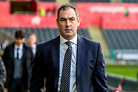 Manager of Swansea City, Paul Clement arrives ahead of the Premier League match between Swansea City and Bournemouth at The Liberty Stadium, Swansea, Wales, UK. Saturday 25 November 2017