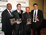 Forrest Whitaker, Kurt Warner, Stuart Rahr and Michael Phelps..Muhammad Ali Celebrityvibe Fight Night XV..A Benefit to raise funds to fight against Parkinson disease..Marriott Hotel and Resort..Phoenix, AZ, USA..Saturday, March 28, 2009..Photo By Celebrityvibe.com.To license this image please call (212) 410 5354; or Email: celebrityvibe@gmail.com ;.website: www.celebrityvibe.com