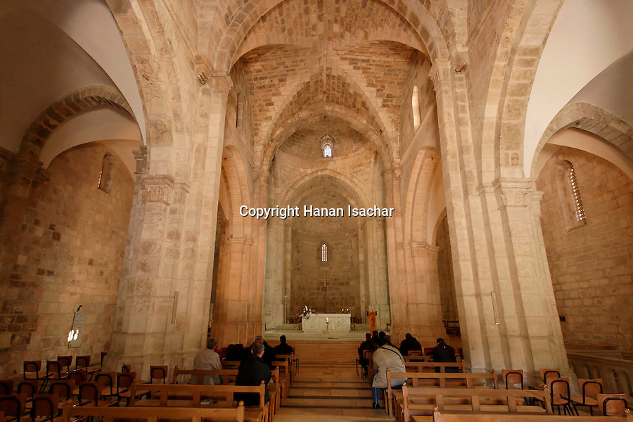 Jerusalem, Israel, The Crusader Church of St. Ann was built between 1131 and 1138<br />