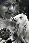 The Wesminster Kennel Club Dog Show at the Madison Square Garden in Manhatten, NY on February 8 & 9th, 1982.  Photo by Jim Peppler/copyright Newsday1982. All Rights Reserved.
