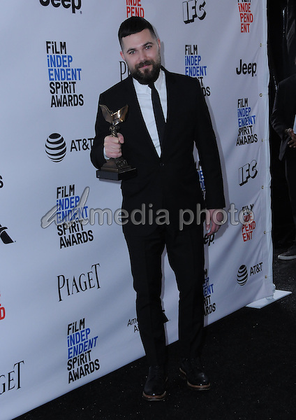 25 February 2017 - Santa Monica, California - Robert Eggers. 2017 Film Independent Spirit Awards held held at the Santa Monica Pier. Photo Credit: Birdie Thompson/AdMedia
