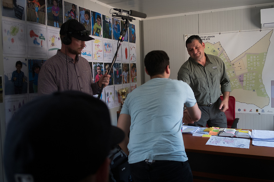 Mitch Moffit and Greg Brown, creators of ASAP Science YouTube Channel visit Kara Tepe Site on the Greek island of Lesvos, where hundreds of refugees are accommodated as they wait to their procedure. Interview subjects include site director Stavros Mirogiannis.