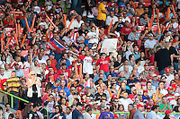 11 March 2009: Fans celebrates as Puerto Rico scores during the first inning of the 2009 World Baseball Classic Pool D game 6 at Hiram Bithorn Stadium in San Juan, Puerto Rico. Puerto Rico wins 5-0 over the Netherlands