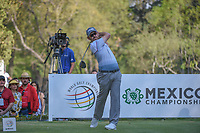 Louis Oosthuizen (RSA) watches his tee shot on 18 during round 3 of the World Golf Championships, Mexico, Club De Golf Chapultepec, Mexico City, Mexico. 3/3/2018.<br /> Picture: Golffile | Ken Murray<br /> <br /> <br /> All photo usage must carry mandatory copyright credit (&copy; Golffile | Ken Murray)