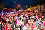 A packed main street for the Mike Denver concert at the Cahersiveen Festival of Music & the Arts on Friday night.