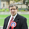 David Furness at BNP Rally on Immigration outside Parliament, Westminster, London, Great Britain <br /> 19th October 2015 <br />  David Furness London Mayoral Candidate for the British National Party <br /> <br /> <br /> Photograph by Elliott Franks <br /> Image licensed to Elliott Franks Photography Services