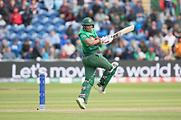 Mohammad Saifuddin (Bangladesh) gets tucked up by a short delivery from Ben Stokes (England) during England vs Bangladesh, ICC World Cup Cricket at Sophia Gardens Cardiff on 8th June 2019