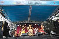 SAO PAULO, SP, 18 DE MAIO DE 2013. VIRADA CULTURAL 2013 -  ILE AIYE .  O grupo afro baiano Ilê Aiye durante apresentacao no Palco Arouche na Virada Cultural. FOTO ADRIANA SPACA/BRAZIL PHOTO PRESS