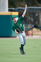 Dartmouth Big Green Eric Stolt (17) during practice before a game against the USF Bulls on March 17, 2019 at USF Baseball Stadium in Tampa, Florida.  USF defeated Dartmouth 4-1.  (Mike Janes/Four Seam Images)