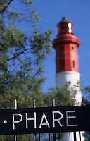 Europe/France/Aquitaine/33/Gironde/Bassin d'Arcachon/Le Cap Ferret: Le phare