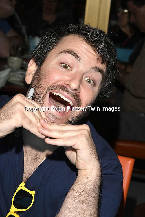 Alex Brightman attends the Broadway Cares/Equity Fights Aids Flea Market and Grand Auction on September 25, 2016 at the Music Box Theatre and in Shubert Ally in New York, New York, USA. <br /> <br /> photo by Robin Platzer/Twin Images<br />  <br /> phone number 212-935-0770