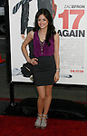 """HOLLYWOOD, CA. - April 14: Lucy Hale arrives at the premiere of Warner Bros. """"17 Again"""" held at Grauman's Chinese Theatre on April 14, 2009 in Hollywood, California."""