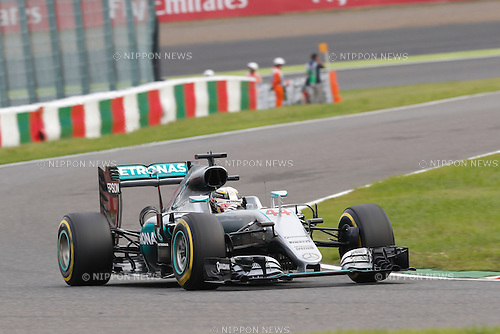 Lewis Hamilton (GBR), <br /> OCTOBER 8, 2016 - F1 : Japanese Formula One Grand Prix Qualifying <br /> at Suzuka Circuit in Suzuka, Japan. (Photo by Sho Tamura/AFLO SPORT) GERMANY OUT