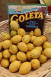 Goleta, CA.  Lemons.  Edit for photo magnet.  Frank Balthis