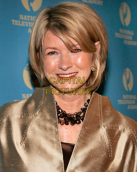 MARTHA STEWART.At the 33rd Annual Creative Daytime Emmy Awards,  .New York City, NY, USA, 22 April 2006..portrait headshot stuart gold jacket.Ref: ADM/JL.www.capitalpictures.com.sales@capitalpictures.com.©Jackson Lee/AdMedia/Capital Pictures.