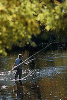 Europe/France/Limousin/23/Creuse: Pêche à la mouche et au fouet - Pêche à la truite