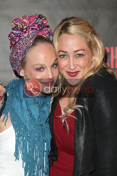 """Dana Daurey, Jennifer Blanc<br /> at the """"Malignant"""" Premiere at Shrielfest, Raleigh Studios, Hollywood, CA 10-04-13<br /> David Edwards/Dailyceleb.com 818-249-4998"""
