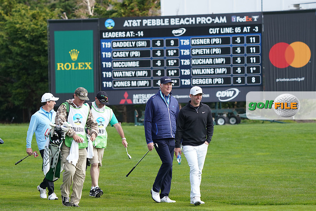 Paul Casey (ENG) during the third round of the AT&T Pro-Am, Pebble Beach, Monterey, California, USA. 07/02/2020<br /> Picture: Golffile | Phil Inglis<br /> <br /> <br /> All photo usage must carry mandatory copyright credit (© Golffile | Phil Inglis)