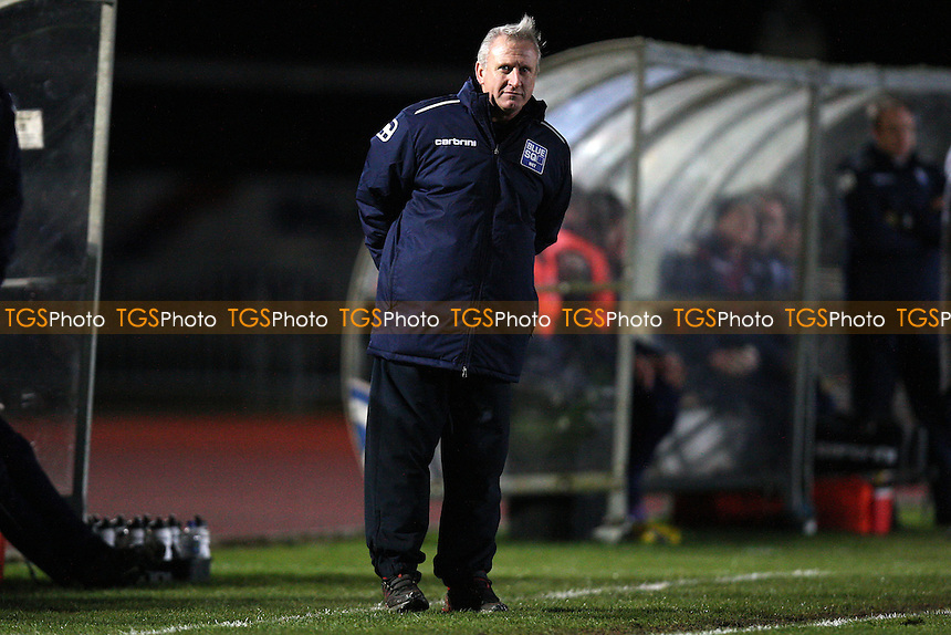 Chelmsford City manager Glenn Pennyfather - Chelmsford City vs Dorchester Town - Blue Square Conference South Football at Melbourne Park Stadium, Chelmsford, Essex - 28/01/13 - MANDATORY CREDIT: Gavin Ellis/TGSPHOTO - Self billing applies where appropriate - 0845 094 6026 - contact@tgsphoto.co.uk - NO UNPAID USE.